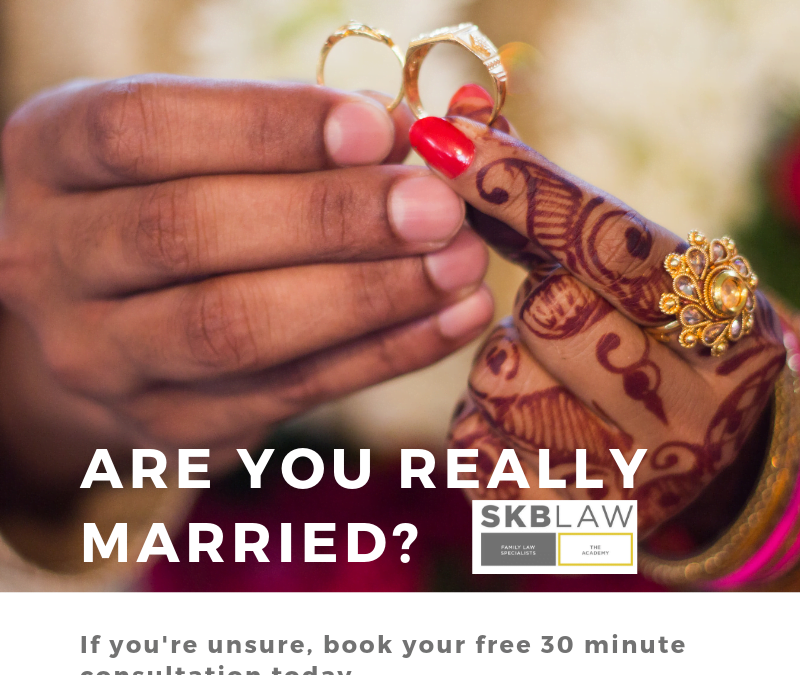 Nikah – are you legally married?