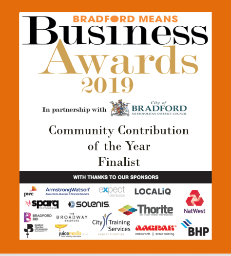 Finalist: Community Contribution Award 2019