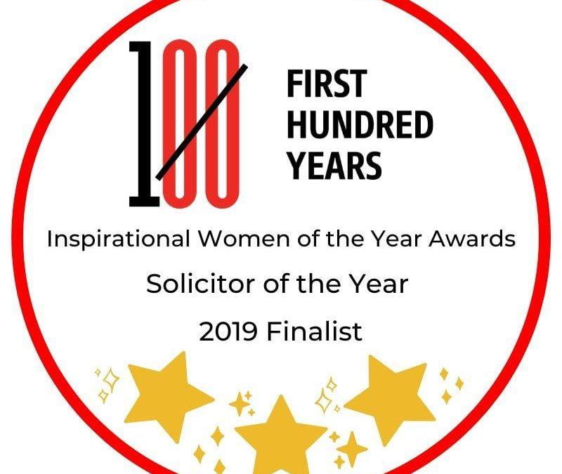 Finalist – Inspirational Women In Law Awards