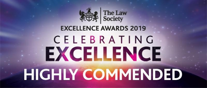 The Law Society - Excellence Awards 2019