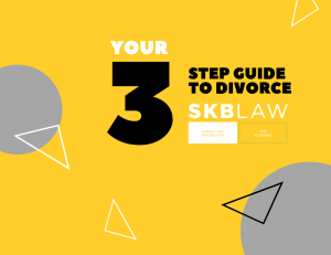 Three Step Guide to Divorce