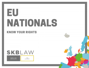 EU Nationals: Know your rights