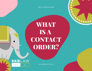 What is a Contact Order?