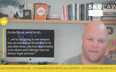Ep1 of Legal Stories by SKB Law – in conversation with Jack Newton