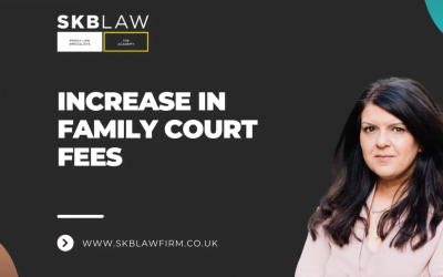 Increase in Family Court Fees